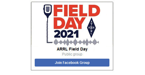 Join the ARRL Field Day Facebook group!
