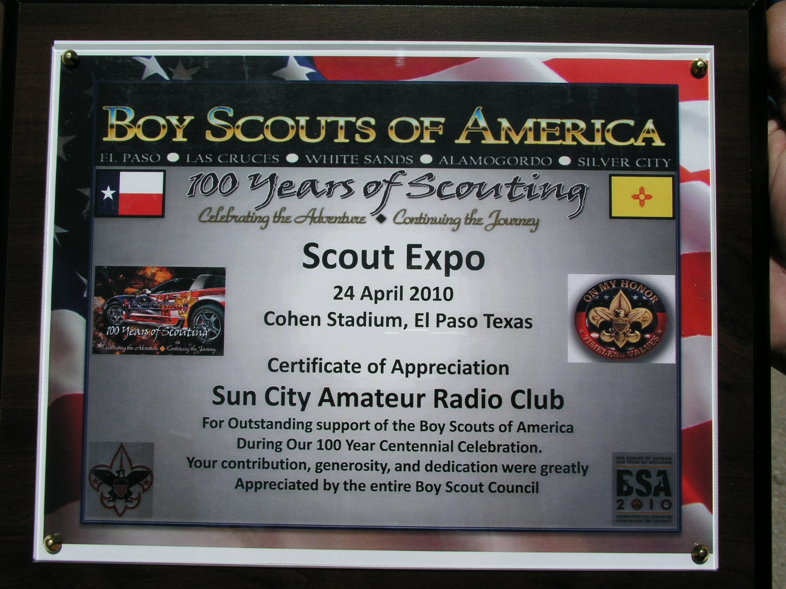 amateur club radio city Sun