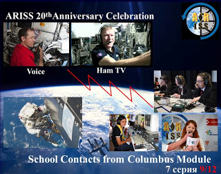 ARISS Posts Descriptions of SSTV Images Transmitted from ISS
