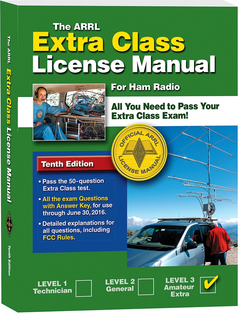 The arrl extra class license manual now available on kindle photo gallery xflitez Image collections