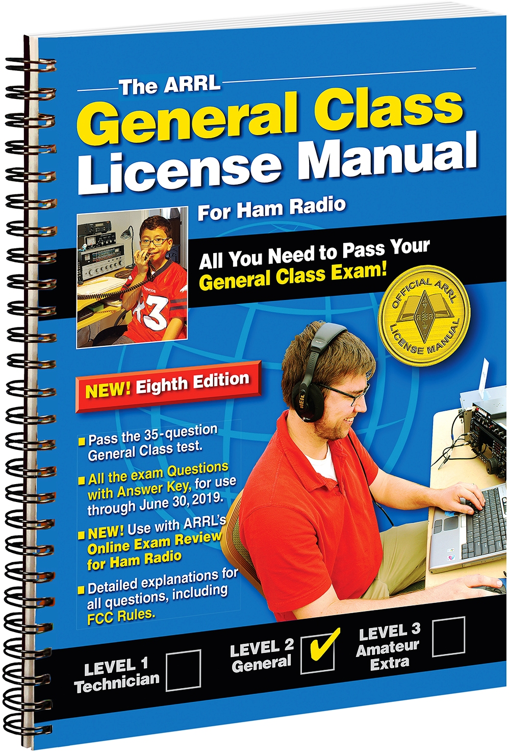 new arrl general class license manual available as softcover spiral rh arrl org arrl ham radio license manual 3rd edition pdf arrl ham radio license manual pdf