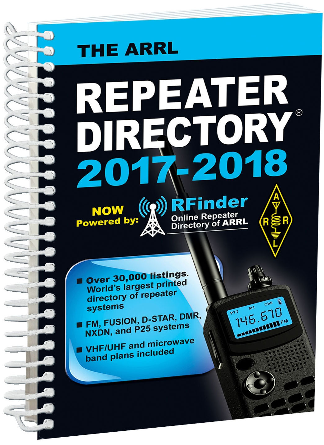 Amateur repeater database