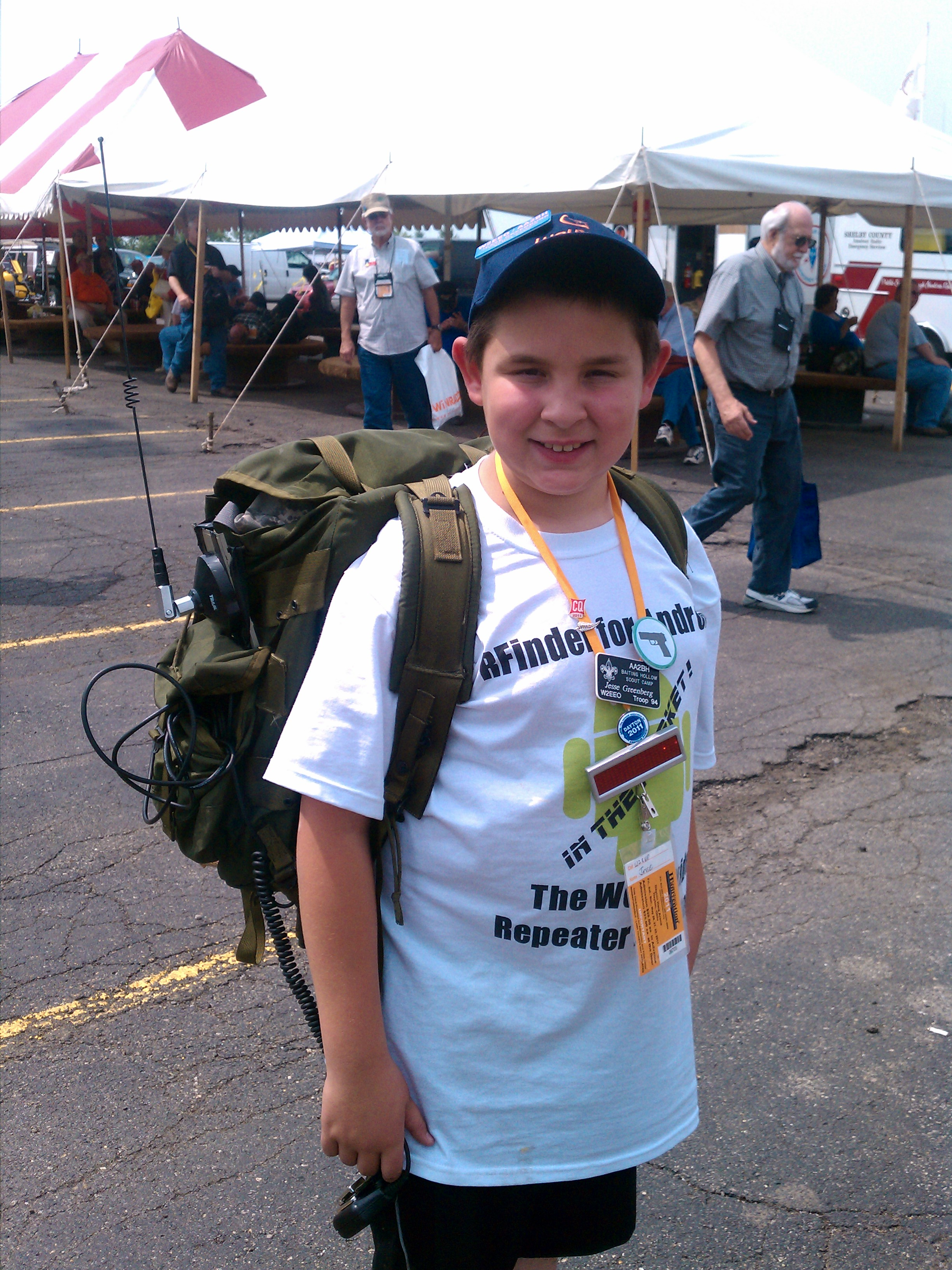 Youth Hamradio Fun A First Timer S Adventure At The