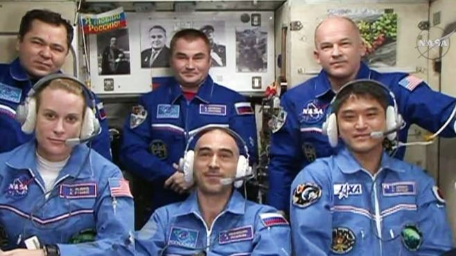 New ISS Crew Increment with Two Radio Amateurs Arrives on