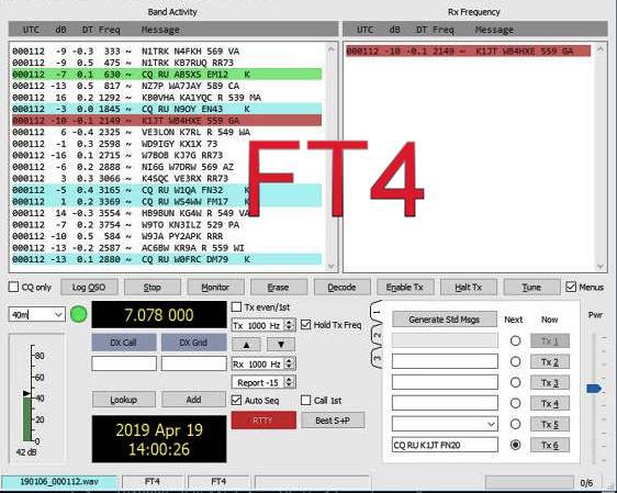 May 14 FT4 Mock Contest Session Canceled, New WSJT-X Beta