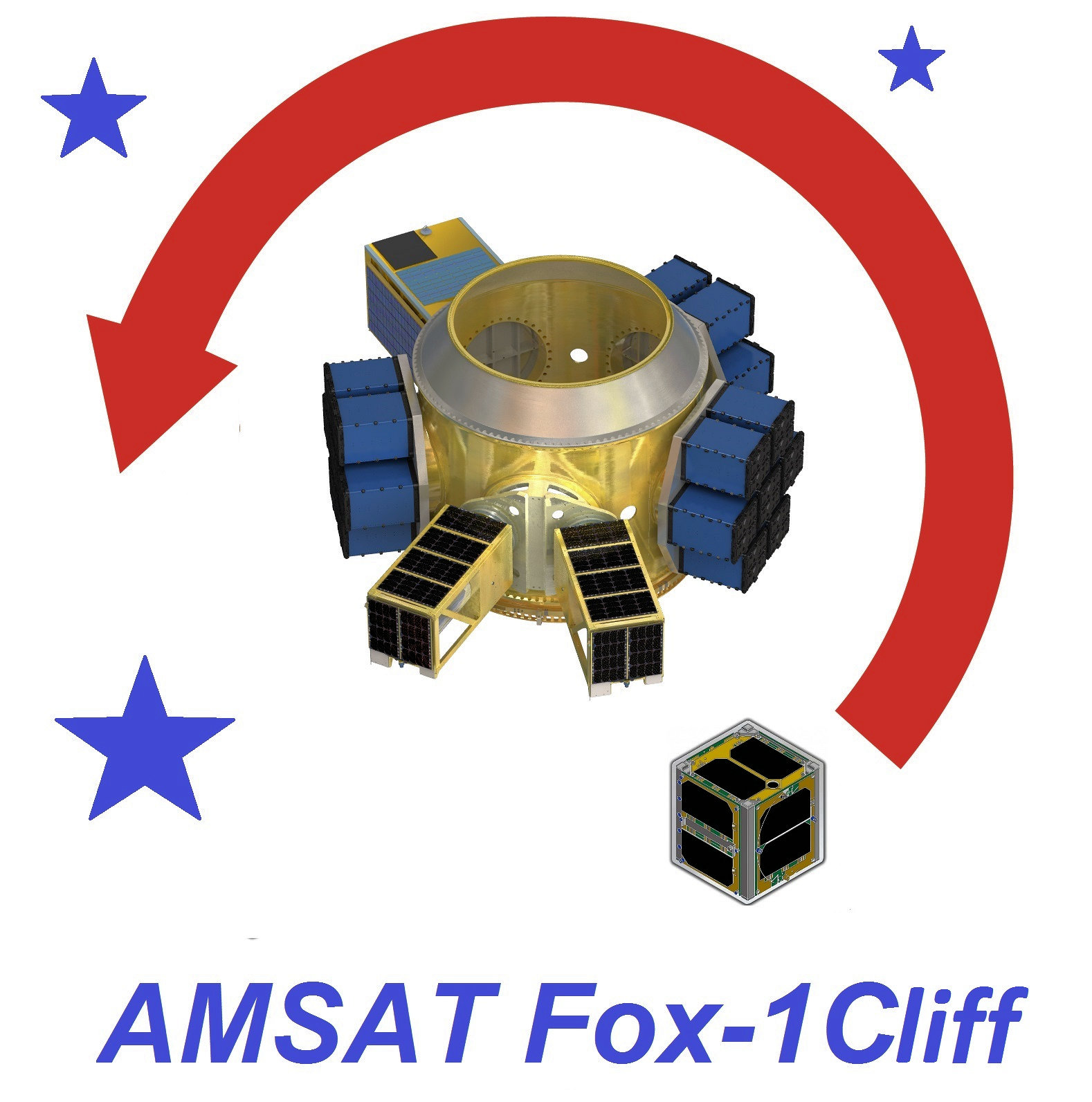 AMSAT's Fox-1Cliff CubeSat Ready for Launch