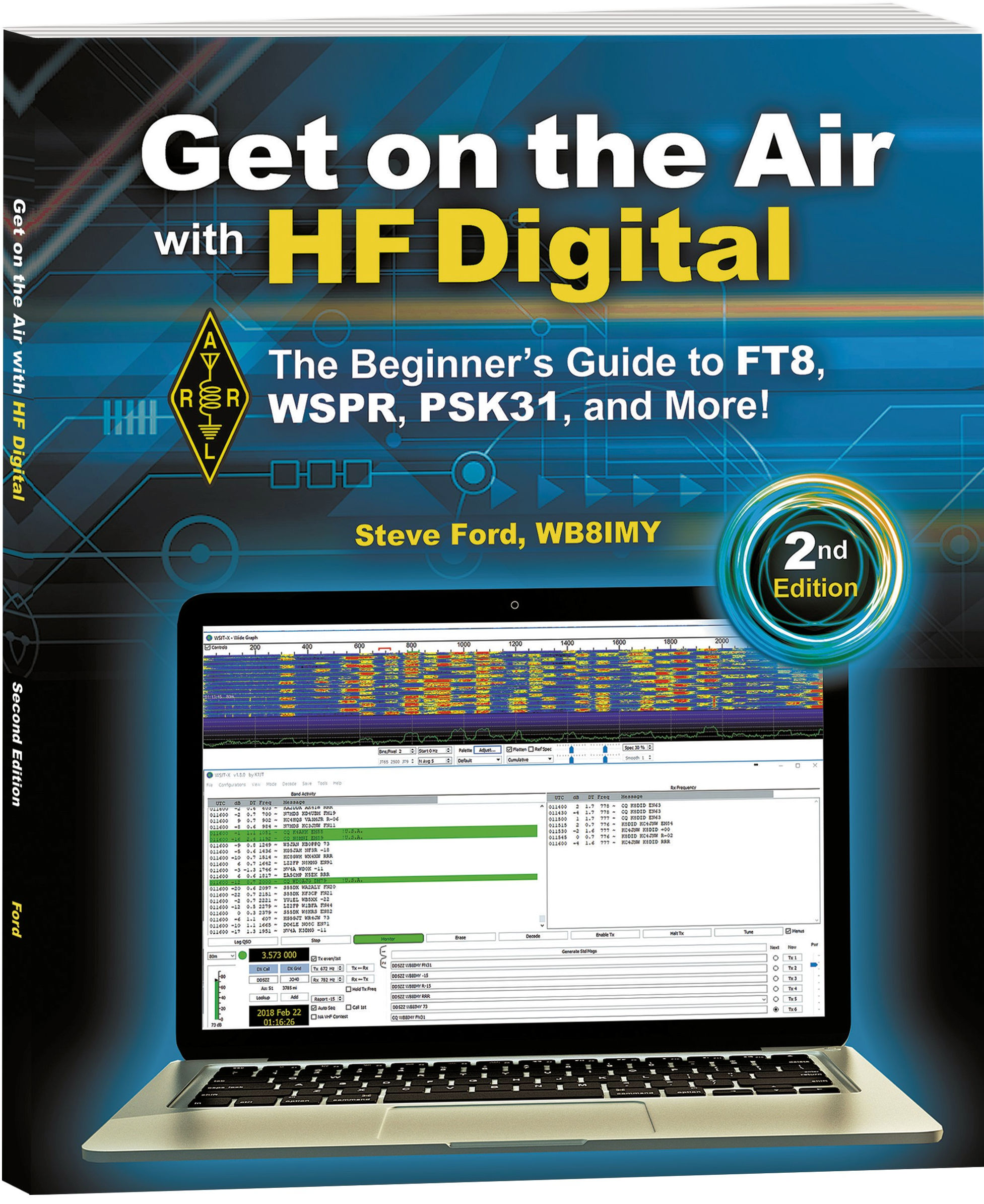New Book Featuring Popular Modes FT8 and WSPR is Now Shipping!