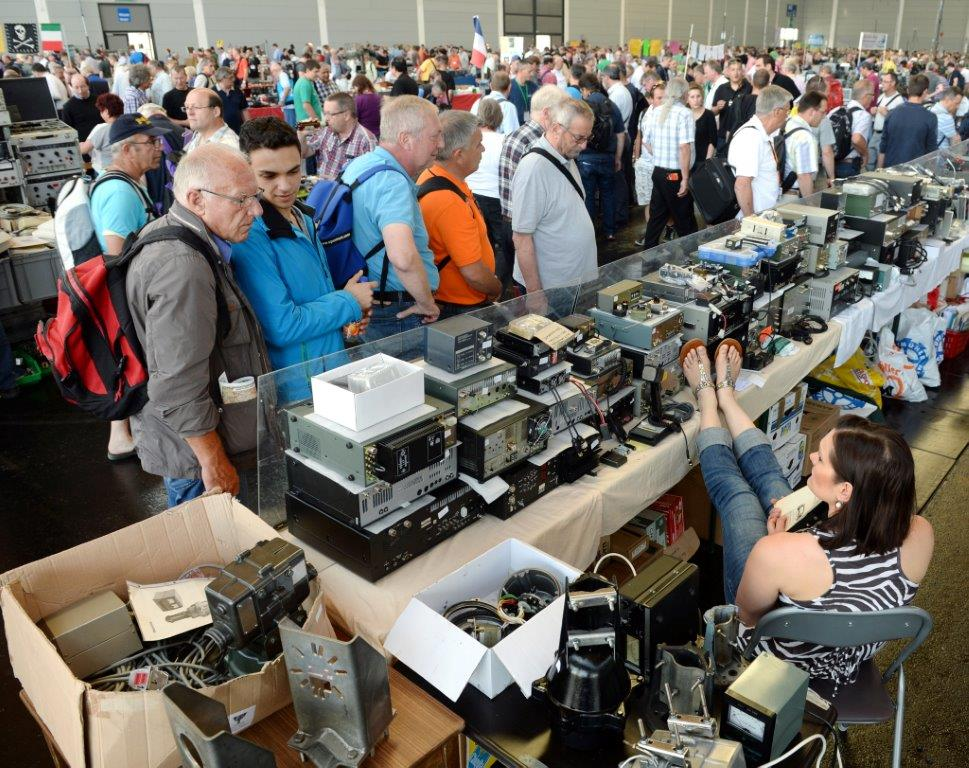Image result for amateur radio flea market