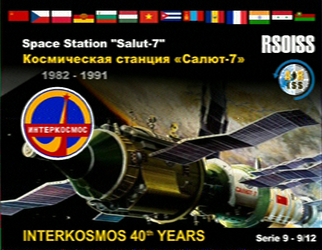 Very Limited ISS Slow-Scan TV Transmissions Set