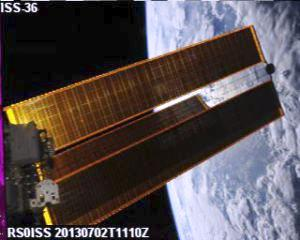 RSØISS Active on SSTV from International Space Station