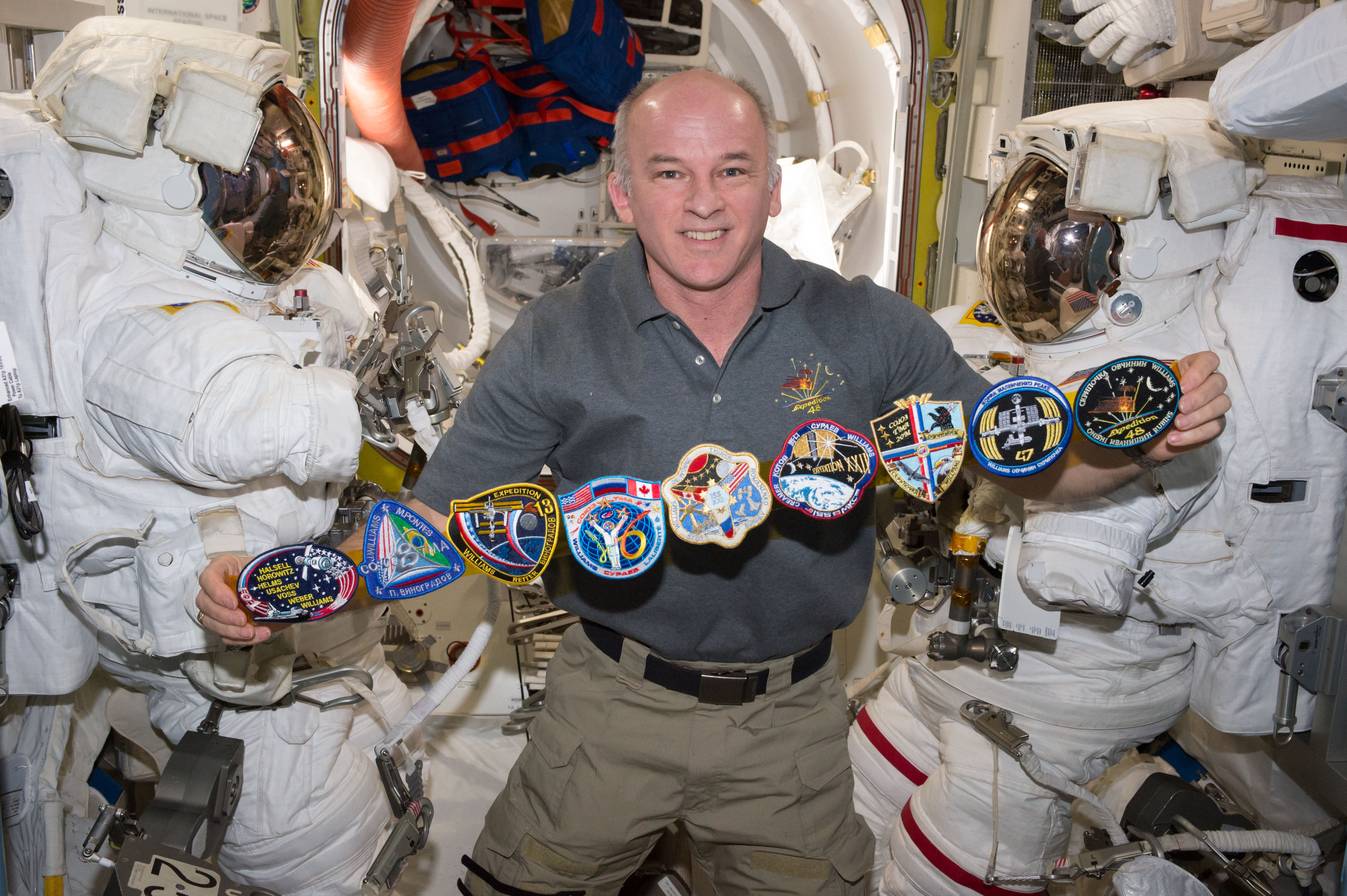 NASA's Jeff Williams, KD5TVQ, will hold the time in space record when he returns