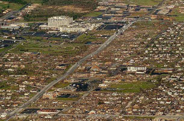 EF5 tornado, as... Ef5 Tornado Damage Before And After