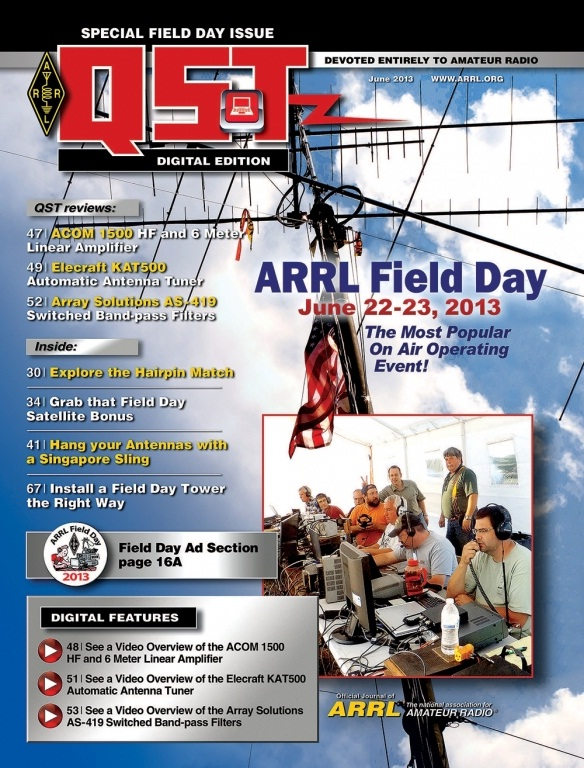 Acom 1500: Digital Edition Of June QST Now Available