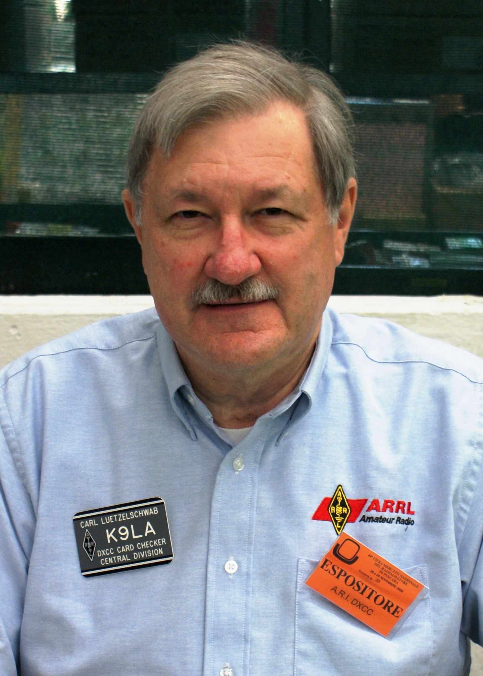 ARRL Central Division Vice Director Carl Luetzelschwab, K9LA