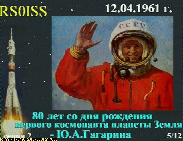 Another Round of International Space Station SSTV Activity