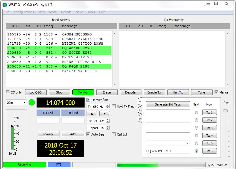 Practice Makes Perfect with FT8 and Other WSJT-X Protocols