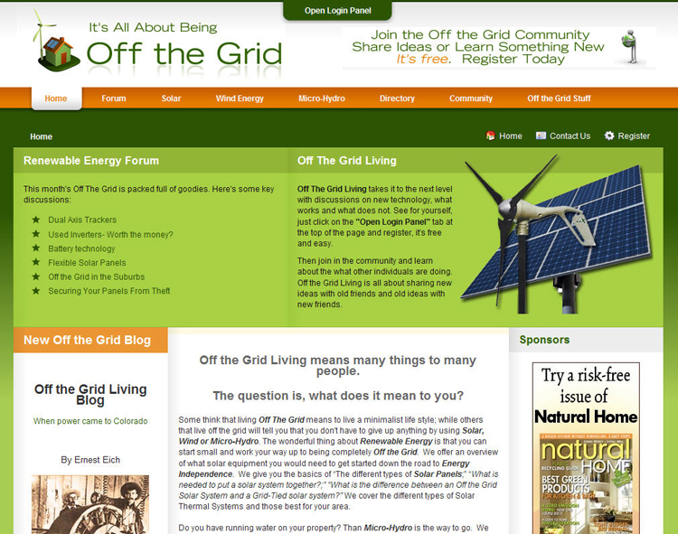 Surfin': Getting Off The Grid