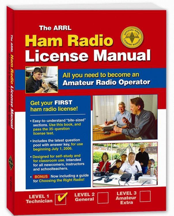 Book Arrl Ham Radio License Manual 2nd Edition - of.