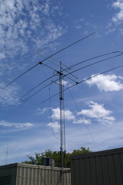 New Tower Antenna Modifications For W1hq