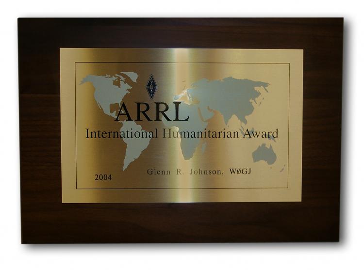 nomination deadline for arrl international humanitarian