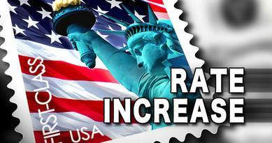 Postage Rates To Increase In January