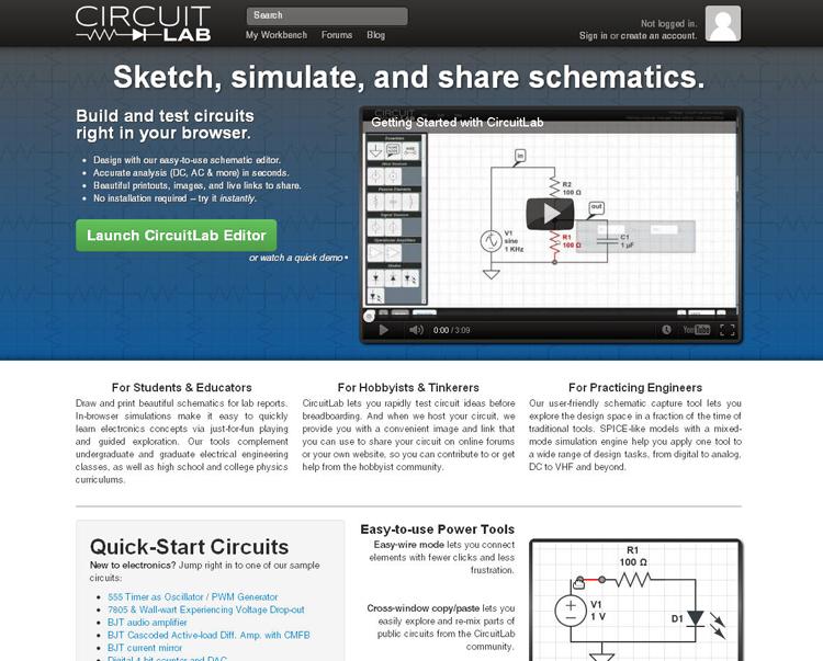 Surfin\': Designing Circuits Online