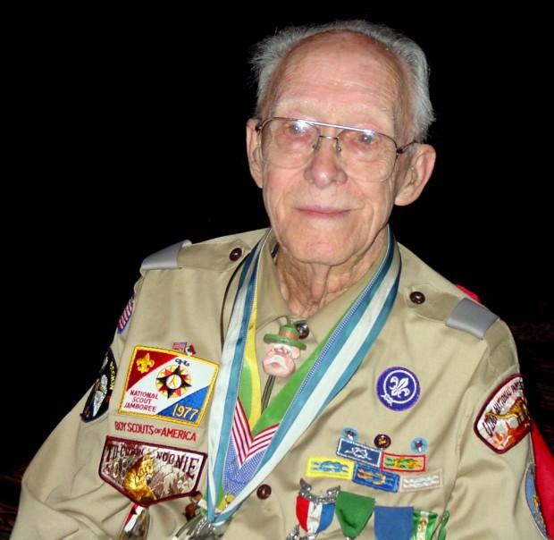 America's Oldest Scouter: Woody Woodward, W7KOP (SK)