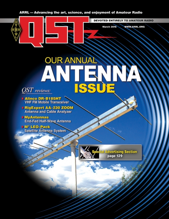 The March Edition of Digital QST is Now Available