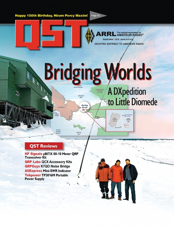 The September issue of Digital QST is Now Available!