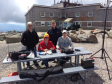 WS1SM team members operate CQWW VHF and SOTA from Mt. Washungton