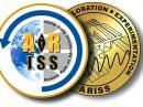 An artist's rendering of the ARISS Challenge Coin.