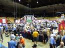 The thinning crowd in Hara Arena on Day 3 of Dayton Hamvention. [Steve Ford, WB8IMY, photo]