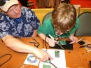 Hams of all ages -- and all levels of experience -- enjoy kit building. The ARRL wants to know what kits you enjoy. [S. Khrystyne Keane, K1SFA, photo]