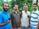 Members of Idukki Ham Radio Emergency Communication Society will provide help during elections in remote tribal grama panchayat of Edamalakudy in Kerala's Idukki district. [Photo courtesy of The Hindu]