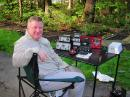 Dennis Markell, N1IMW, of Bedford, New Hampshire, took to the air in the 2012 ARRL June VHF Contest where he logged his first 6 meter DX QSO (Geoff Weale, GW3LEW, of Pembrokeshire, Wales). [Photo courtesy of Dennis Markell, N1IMW]
