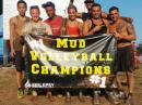 Mud Volleyball 2015 champs 99 Problems. [Courtesy Epilepsy Foundation of Connecticut]