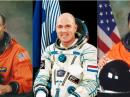 Don Pettit, KD5MDT, Oleg Kononenko, RN3DX, and Andre Kuipers, PI9ISS, returned from the International Space Station on July 1. [Photos courtesy of NASA]