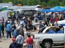 General view of hamfest flea market.