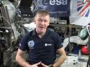 Tim Peake, KG5BVI, on the ISS.