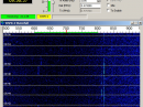 The WSPR screen shot of WG2XIQ's signal as seen at VK2DDI.