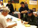 DXCC staff and Volunteer Card Checkers will be on hand in the ARRL EXPO area to check cards for ARRL operating awards. [S. Khrystyne Keane, K1SFA, Photo]
