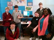Olde Towne Middle School Conducts Research via Near-Space Balloon
