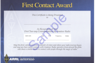 First Contact Award