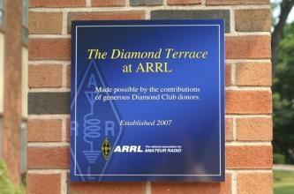 ARRL Honors Diamond Terrace Contributors