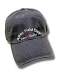 "Charcoal gray hat embroidered with the words ""ARRL Field Day"" and ""Ham Radio""."