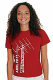 Red t-shirt featuring the 2017 Field Day logo on the front, and Ham Radio on the back.<P>