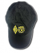 Black hat embroidered with the ARRL 100 Years logo in gold.