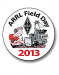 "The official 2013 Field Day pin...wear it proudly! Size 1-1/4""."