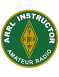 "This colorful patch will symbolize your dedication and commitment to Amateur Radio as an ARRL Instructor.  Size 3"" round."