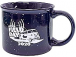 Top quality lovely speckled finish 13 ounce ceramic mug, featuring the 2020 Field Day logo.